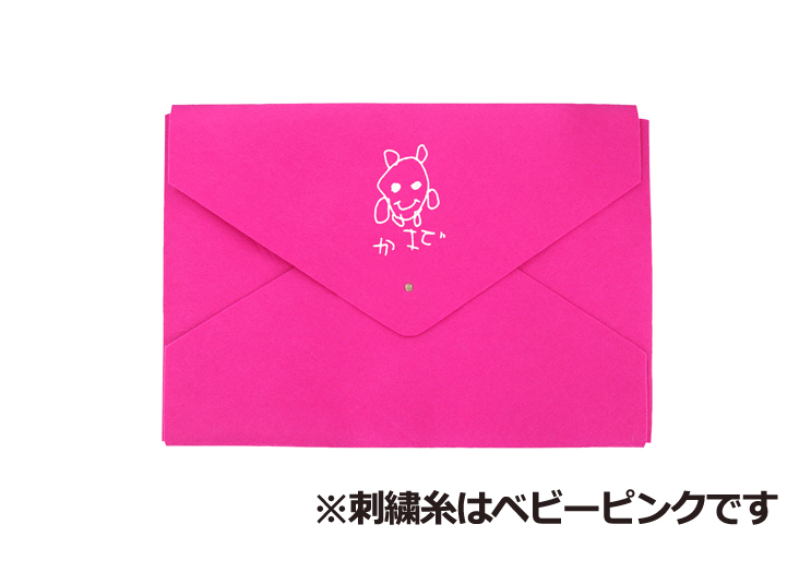 D-f ピンク(刺繍糸ベビーピンク)