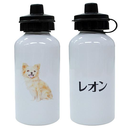 名入れウォーターボト チワワ 日本字