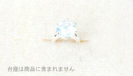 ベビーリングペン 誕生石6月 乳白色