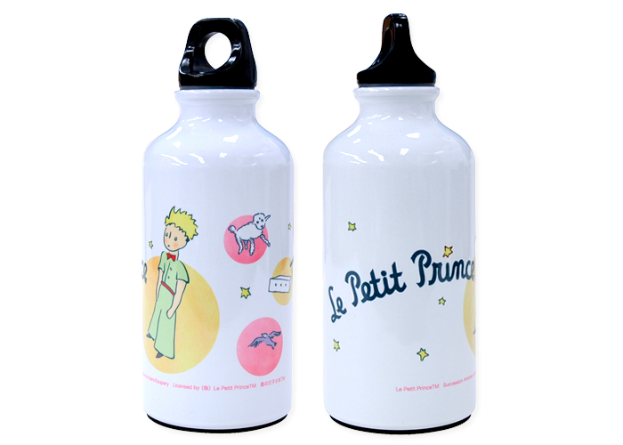 ウォーターボトル-星の王子さ ピンク
