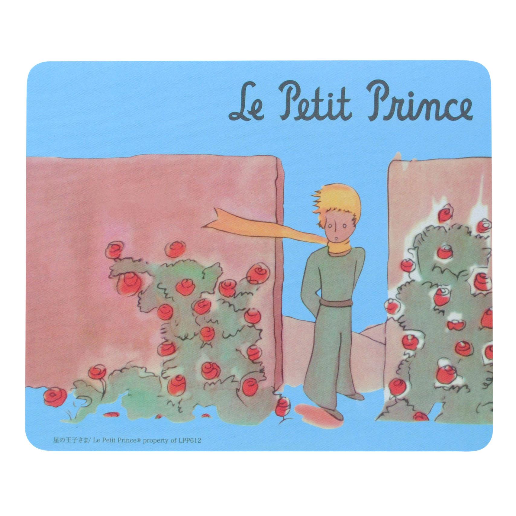 ダイカットマウスパッ バラの庭の王子