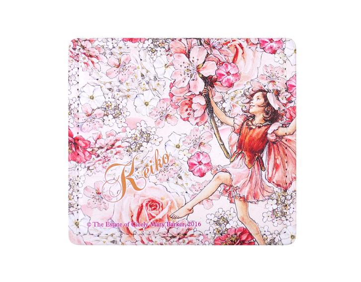 名入れ捺印マット-フラワーフ ピンク