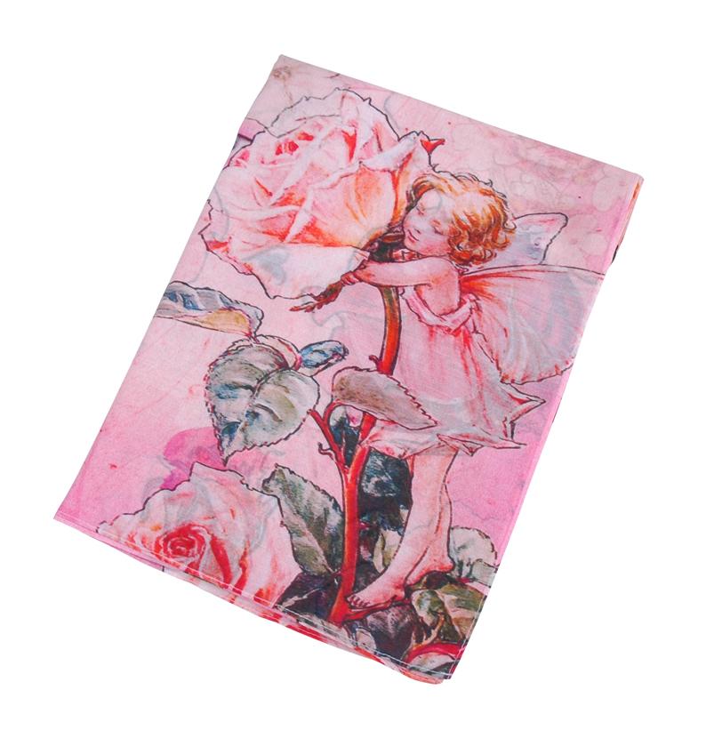 ストール-フラワーフェアリー ピンク