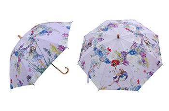 UVカット晴雨兼用長傘-フ パープル