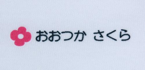 名前の大きなカラーフロ 花 文字色黒
