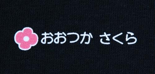 名前の大きなカラーフロ 花 文字色白