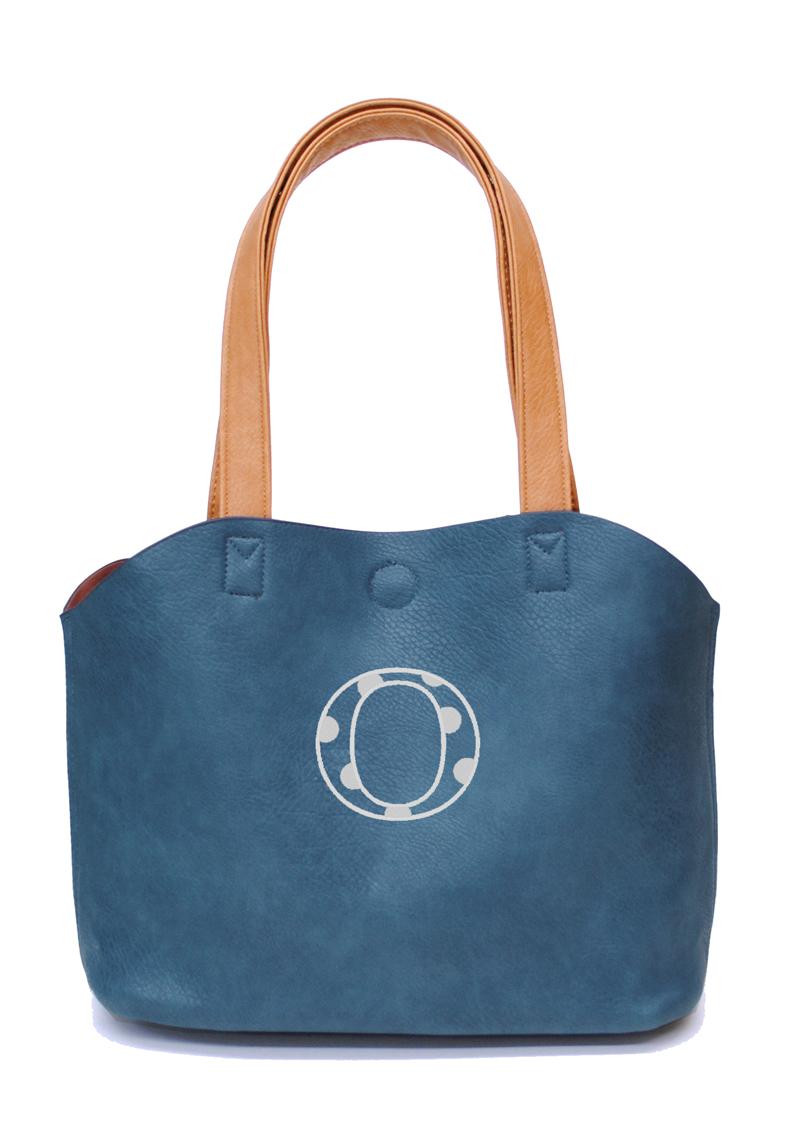 ディア ブルー 刺繍カラー:シルバー