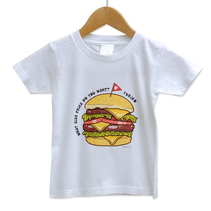 ペア(トリプル)Tシャ ハンバーガー