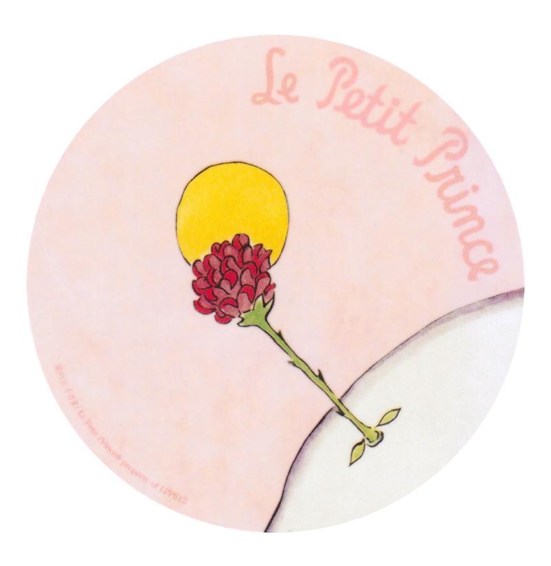 耐水加工ラミネート ビッグ バラの花