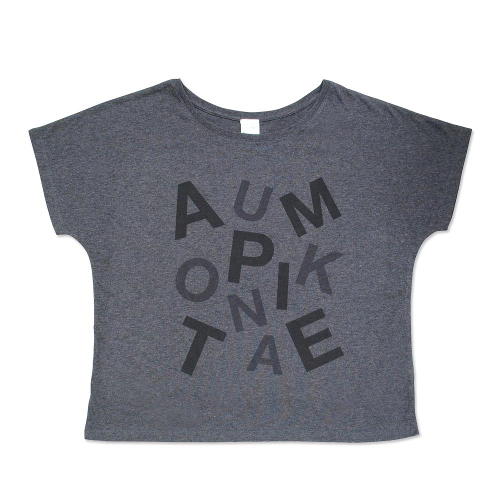 メッセージTシャツ・ドルマ ブラック