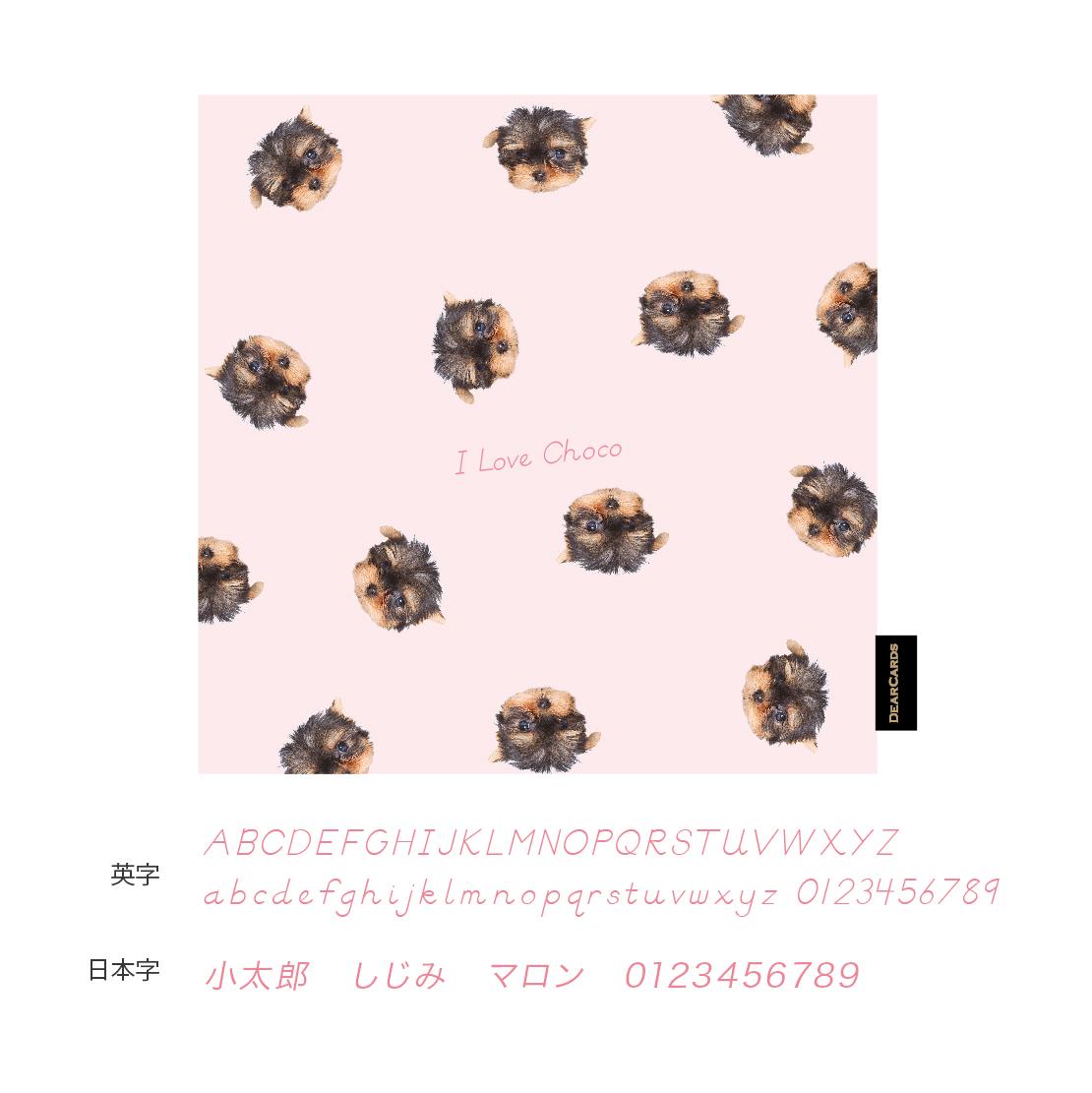 ディアカーズ ペッ パターン:ピンク