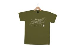 KIDS Tシャツ サン=テ カーキ