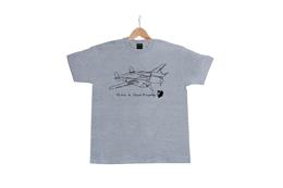KIDS Tシャツ サン= 杢グレー