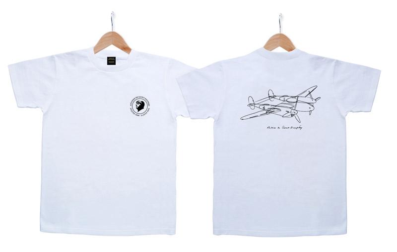 両面デザイン Tシャツ サン=テ 白