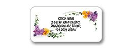 センタータイプシー 花(黄・紫)透明