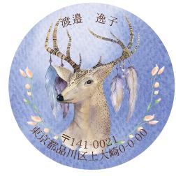 丸形アドレスシー Dear Deer