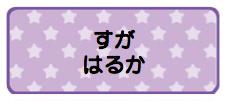 パターンお名前シール_10 スター紫