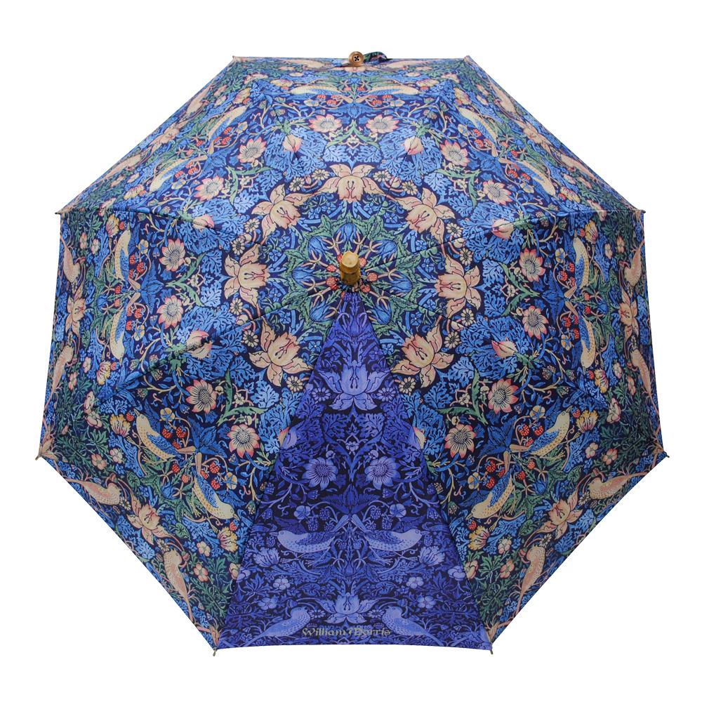 UVカット晴雨兼用長傘- いちご泥棒