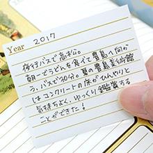5年日記用旅行シール-アリス・イン・ワンダーランド