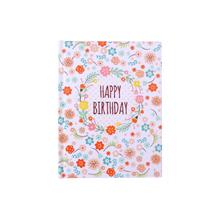 メッセージブック-Happy Birthday