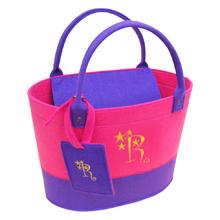 D-fel 刺繍イニシャルバッグ+カードケース&ラゲッジタグセット