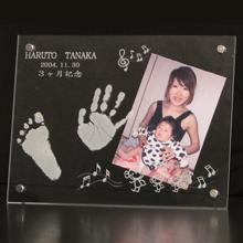 赤ちゃん手形・足型 写真立て お仕立券