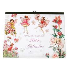 開始月を選べる カレンダー-フラワーフェアリーズ 名入れなし