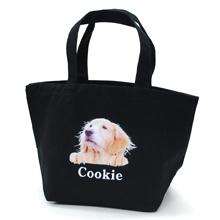 うちの子の写真でつくるひょっこり犬トートバッグ(S)