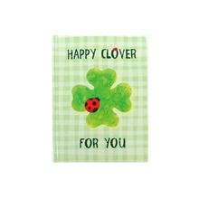 メッセージブック Happy Clover For You