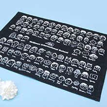 【オプション】似顔絵グッズ ランチョンマット お仕立て券 端数専用